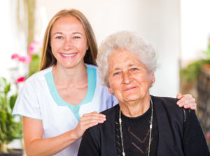 Elderly Care Companion at work