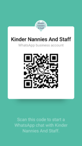 Chat to Kinder on WhatsApp